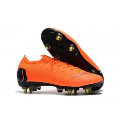 Nike Mercurial Vapor XII Elite AC SG-Pro Orange Black