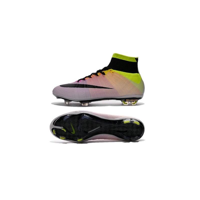online store 1c907 998bf Cristiano Ronaldo New Soccer Boot Nike Mercurial Superfly FG White Volt  Orange