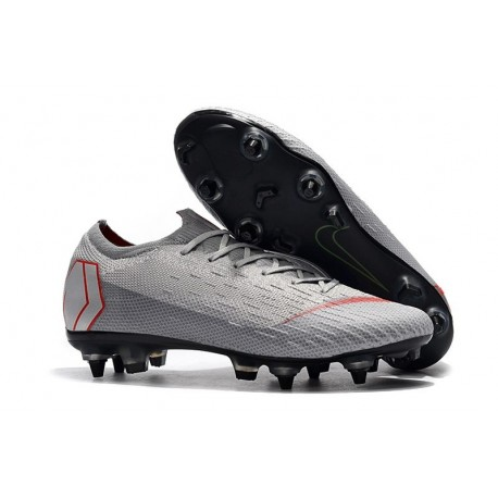Nike Mercurial Vapor 12 Elite SG Pro AC - Grey Red