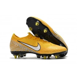 Neymar Nike Mercurial Vapor 12 Elite SG Pro AC - Yellow White