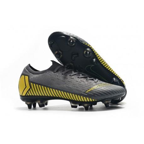 Nike Mercurial Vapor 12 Elite SG Pro AC Grey Yellow