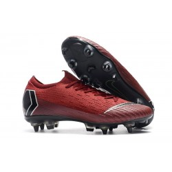 Nike Mercurial Vapor 12 Elite SG Pro AC - Red Black