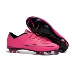 Nike Mercurial Vapor X FG Firm Ground Football Shoes Hyper Pink
