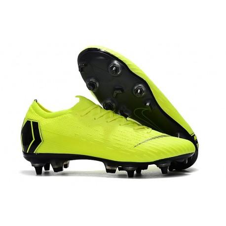 Nike Mercurial Vapor 12 Elite SG Pro AC - Volt Black