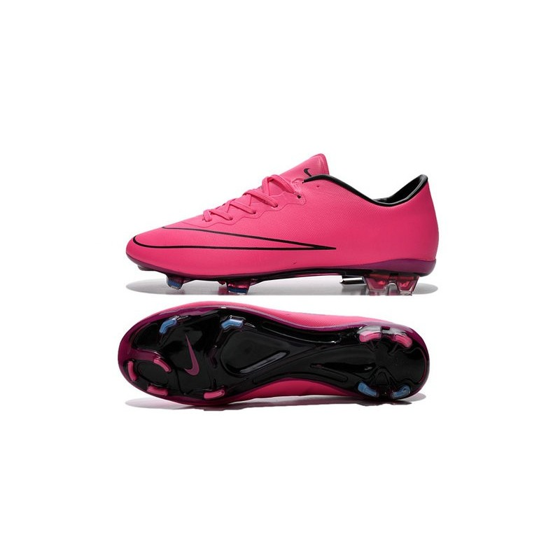 separation shoes fb55c a1c0b Nike Mercurial Vapor X FG Firm Ground Football Shoes Hyper Pink