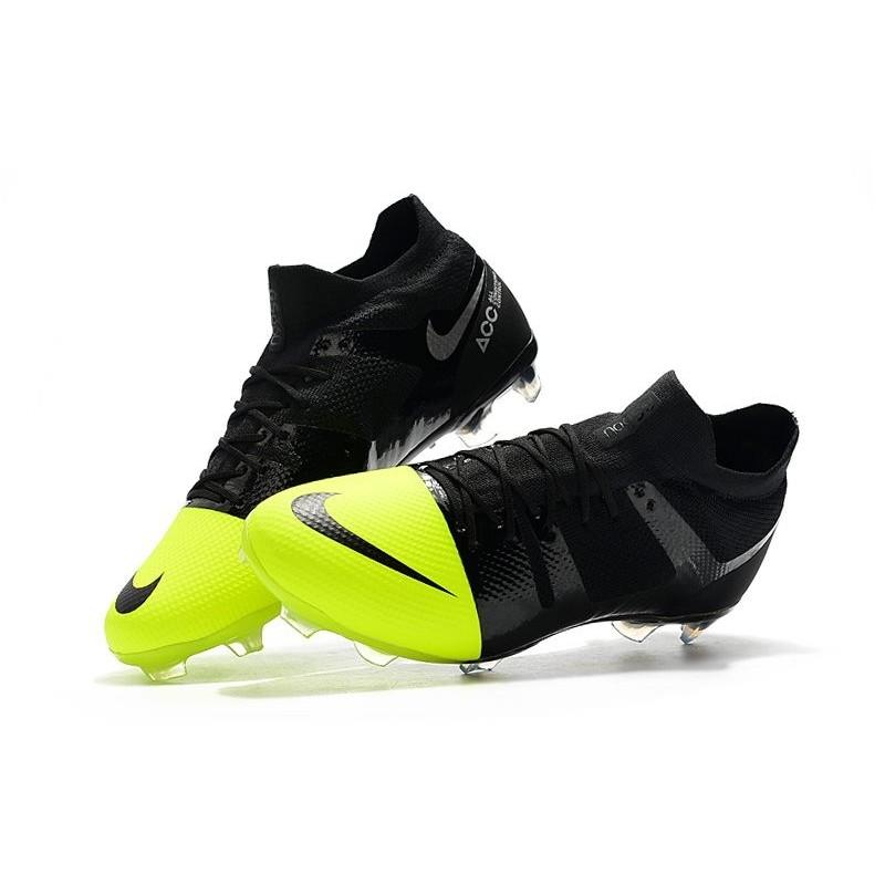 cheap for discount 6f279 22ec7 Nike Mercurial Greenspeed 360 FG Soccer Boots - Black Metallic Silver Volt  Maximize. Previous. Next