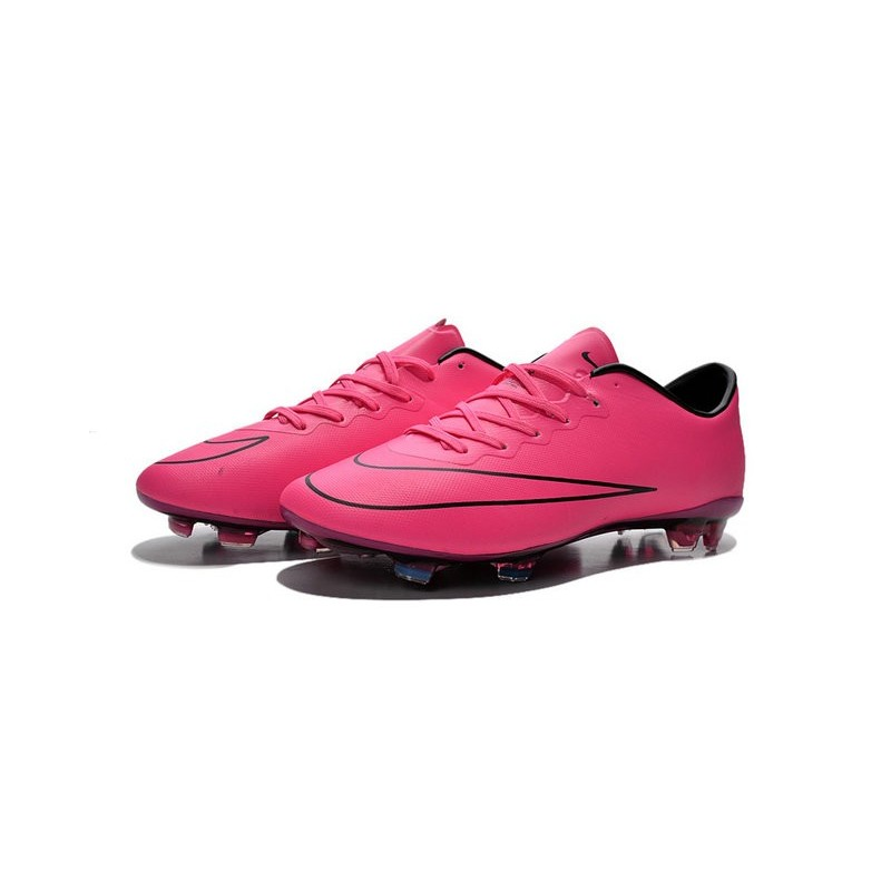 separation shoes 516f8 5cef7 Nike Mercurial Vapor X FG Firm Ground Football Shoes Hyper Pink