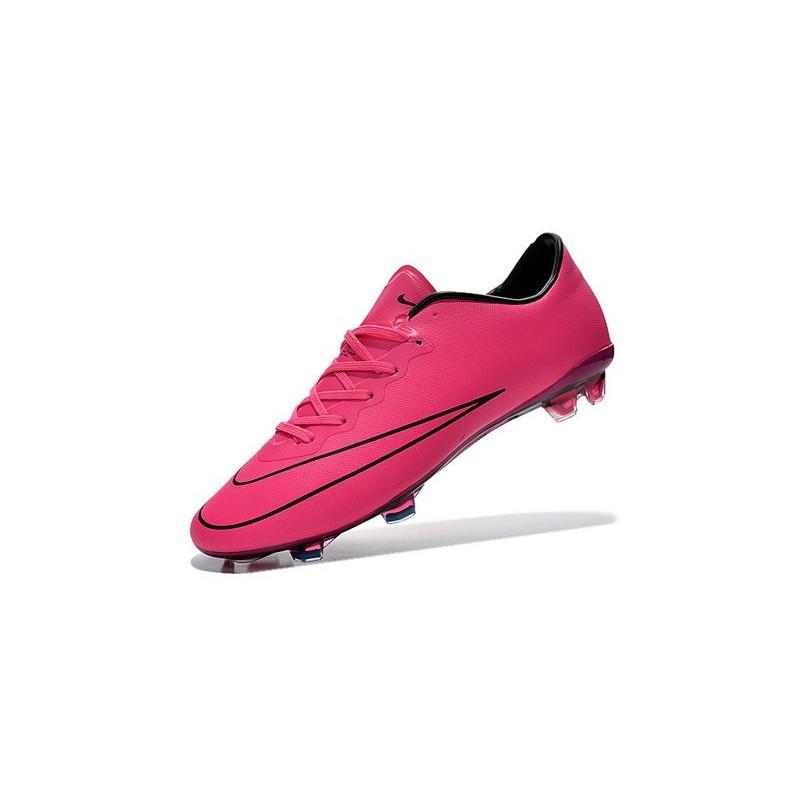 43f8141154703 Nike Mercurial Vapor X FG Firm Ground Football Shoes Hyper Pink
