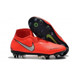 Nike Phantom Vision Elite DF SG-Pro Anti-Clog Crimson Silver