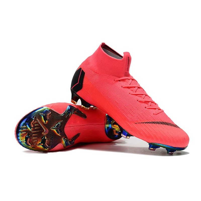 online retailer a5caa 26990 Nike Mercurial Superfly VI 360 Elite FG Cleat - Pink Black