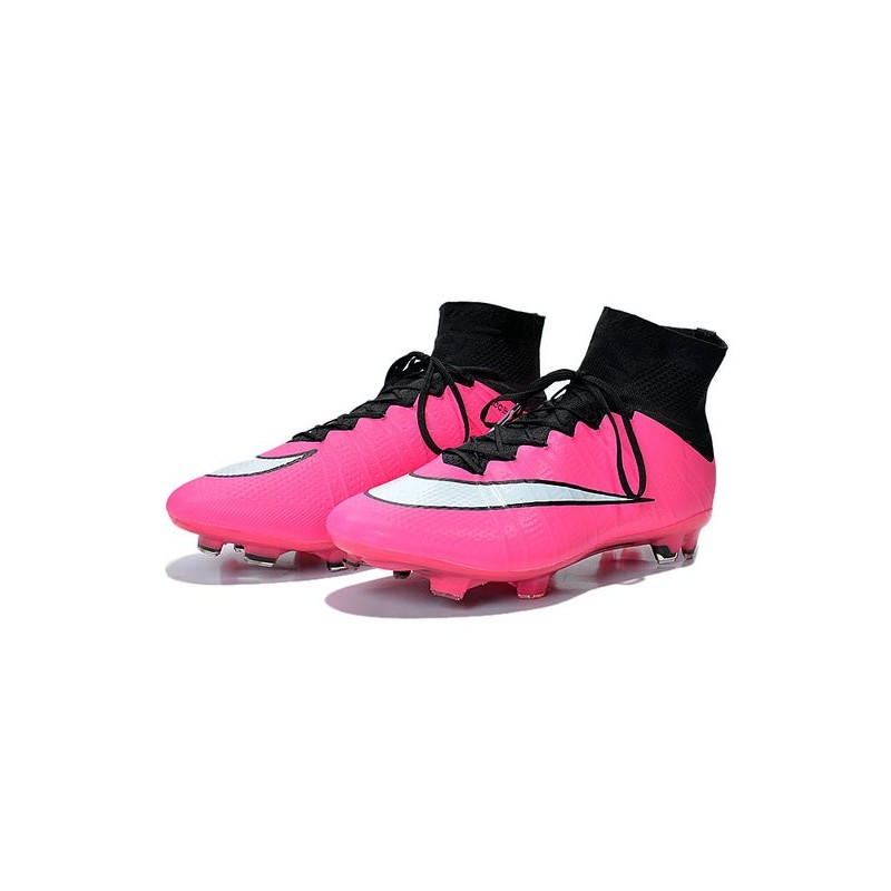 0d59fe27a732 Nike Mercurial Superfly IV FG Mens Football Shoes Pink White Maximize.  Previous. Next