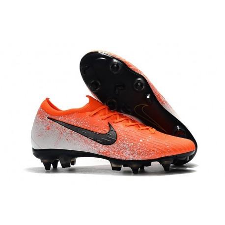 Nike Mercurial Vapor 12 Elite SG Pro AC - Orange Black White