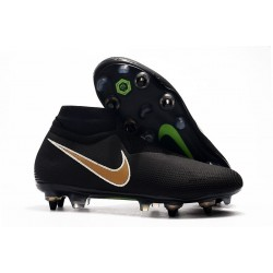 Nike Phantom Vision Elite DF SG-Pro Anti-Clog Black Gold