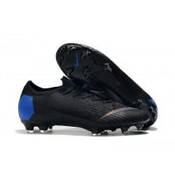 Nike Mercurial Vapor 12 Elite FG Soccer Boot Black Blue Orange