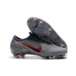 Nike Mercurial Vapor 12 Elite FG Soccer Boot Wolf Grey Armory Blue