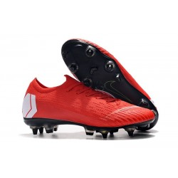 Nike Mercurial Vapor 12 Elite SG Pro AC - Red White