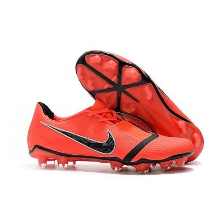 Nike Phantom Venom Elite FG New Boots Bright Crimson Black