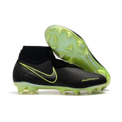 Top Nike Phantom Vision Elite DF FG Black Volt