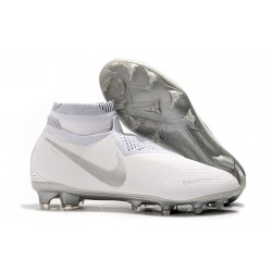 Top Nike Phantom Vision Elite DF FG Firm Ground Shoes White