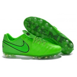 Nike Tiempo Legend V FG Kangaroo Leather Soccer Cleats Green