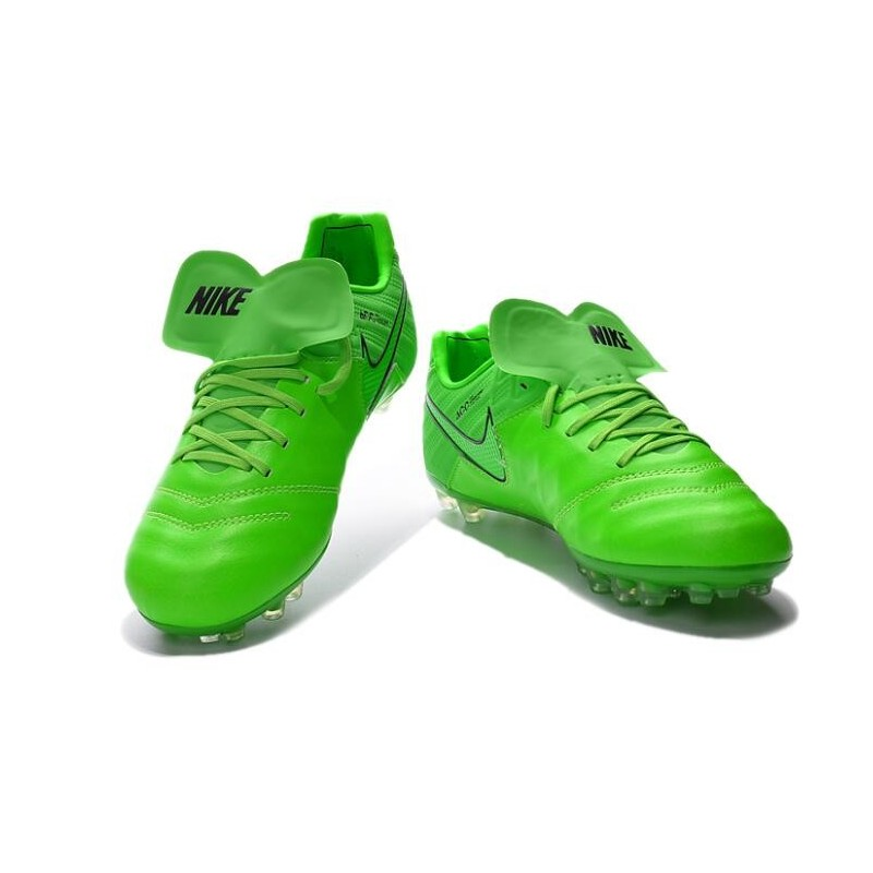 buy popular a168c 12d84 Nike Tiempo Legend V FG Kangaroo Leather Soccer Cleats Green