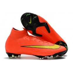 Nike Mercurial Superfly IV FG Mens Football Shoes Hyper Punch Gold
