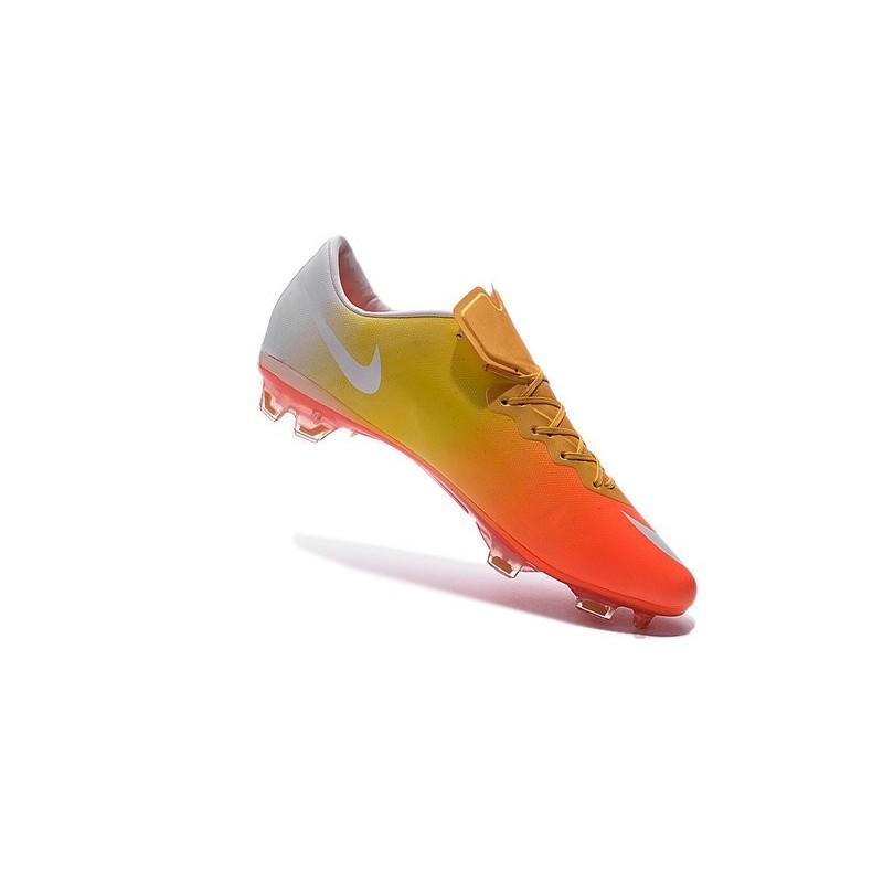 huge selection of e0109 c48a0 ... Cristiano Ronaldo Nike Mercurial Vapor 10 FG ACC Orange Yell  Alternative Views Nike Mercurial Vapor X FG White Yellow Pale ...