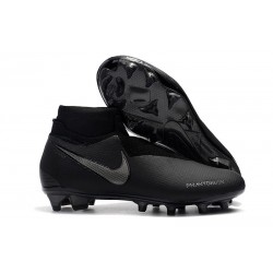 Nike Phantom Vision Elite Dynamic Fit FG Cleat - All Black