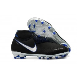 Nike Phantom Vision Elite Dynamic Fit FG Cleat - Black Silver