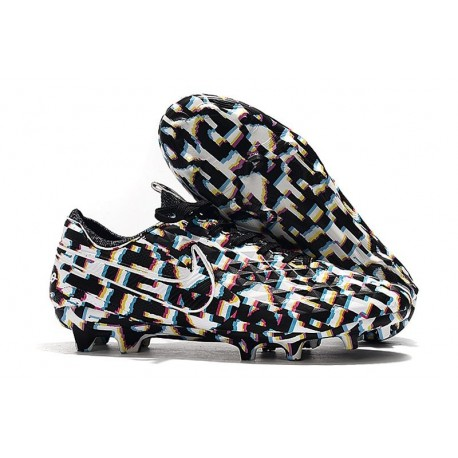 New Nike Tiempo Legend VIII FG Soccer Cleats Black White
