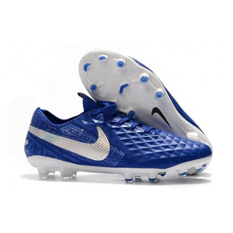 New Nike Tiempo Legend VIII FG Soccer Cleats Hyper Royal White