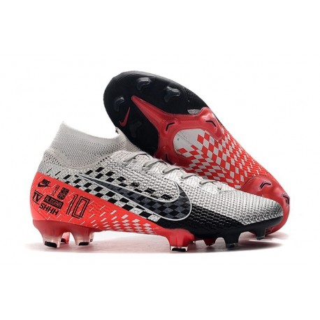 Nike Mercurial Superfly 7 Elite FG Neymar Chrome/Black/Red Orbit
