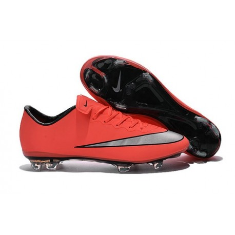 meet 08ddd 8ddf4 Cristiano Ronaldo Nike Mercurial Vapor 10 FG ACC Bright Mango Metallic  Silver