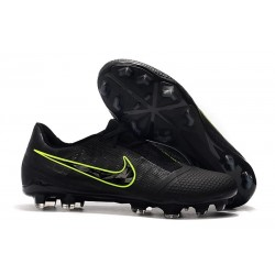 Nike Phantom Venom Elite FG New Boots Black Volt