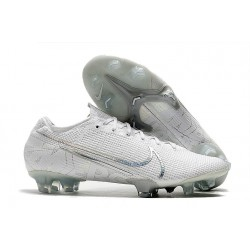 Nike Mercurial Vapor 13 Elite FG Cleat White Pack