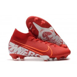 Nike Mercurial Superfly 7 Elite FG New Cleat Red White