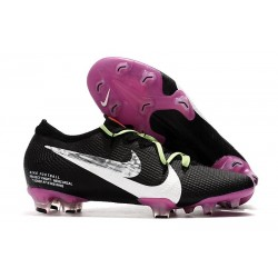 New Nike Mercurial Vapor XIII Elite ACC FG Black Purple Silver White