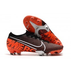 Limited Edition Nike Mercurial Vapor XIII Elite ACC FG Black White Hyper Crimson