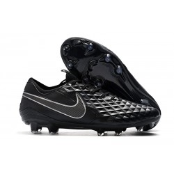 New Nike Tiempo Legend VIII FG Soccer Cleats Black