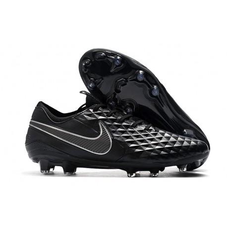 New Nike Tiempo Legend VIII FG Soccer Cleats Black