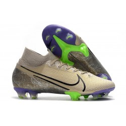 Nike Mercurial Superfly 7 Elite FG New Cleat Desert Sand