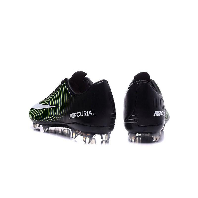 meet 6f698 c7302 New Nike Mercurial Vapor XI FG Men Soccer Cleat Black White Blue