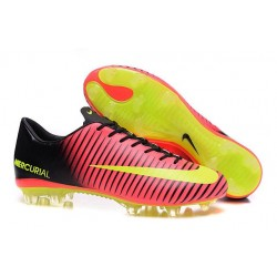 New Nike Mercurial Vapor XI FG Men Soccer Cleat Red Yellow Black