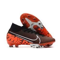 Nike Mercurial Superfly 7 Elite AG-PRO Black Orange