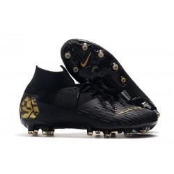 Nike Mercurial Superfly 7 Elite AG-PRO Black Gold