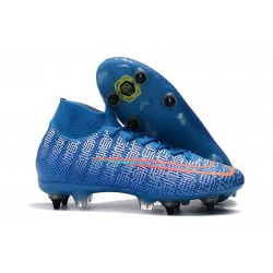 Nike Mercurial Superfly VII Elite SG-PRO AC Blue Red