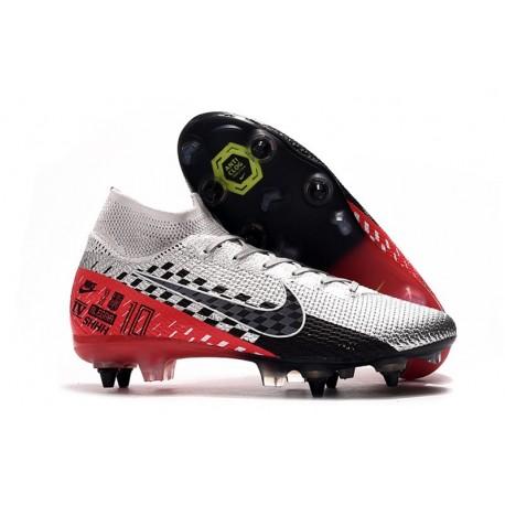 Nike Mercurial Superfly VII Elite SG-PRO AC Neymar Chrome Black Red