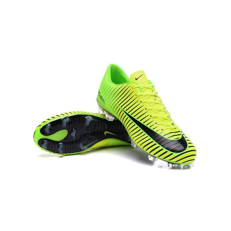 super popular 34a2d 4af98 New Nike Mercurial Vapor XI FG Men Soccer Cleat Green Black