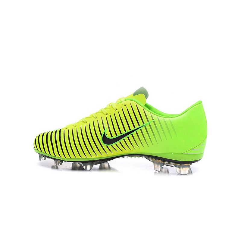 079f12b0dea84 New Nike Mercurial Vapor XI FG Men Soccer Cleat Green Black