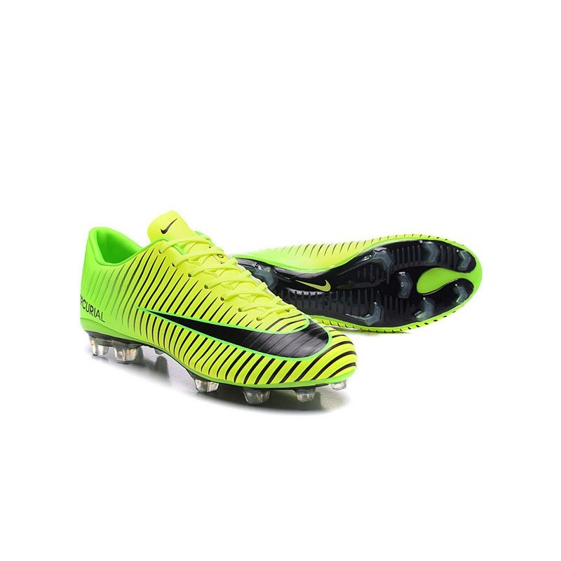 7efca8f2cf New Nike Mercurial Vapor XI FG Men Soccer Cleat Green Black